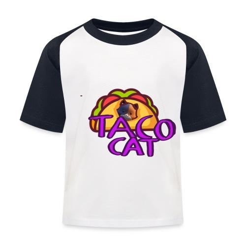 TACO CAT - Baseboll-T-shirt barn