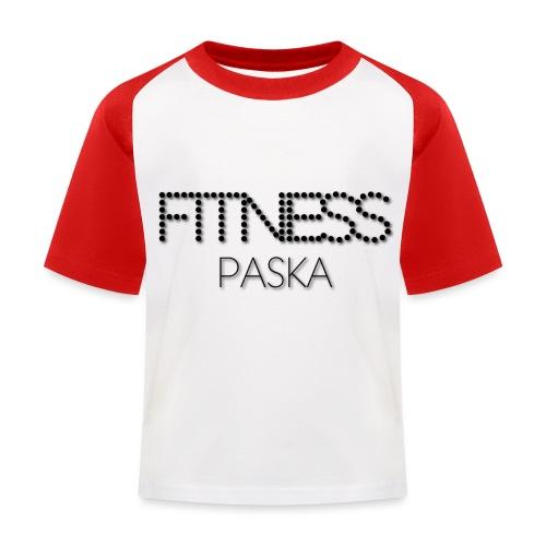 FITNESS PASKA - Lasten pesäpallo  -t-paita