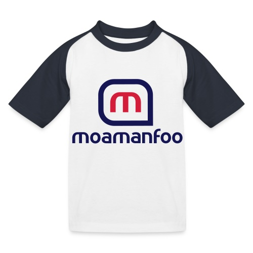 Moamanfoo - T-shirt baseball Enfant