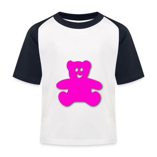 teddy bär - Kinder Baseball T-Shirt