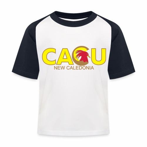 chem - T-shirt baseball Enfant