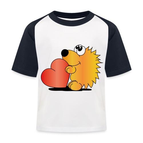 Igelchen - Kinder Baseball T-Shirt
