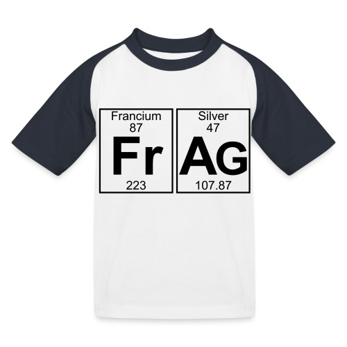 Fr-Ag (frag) - Full - Kids' Baseball T-Shirt