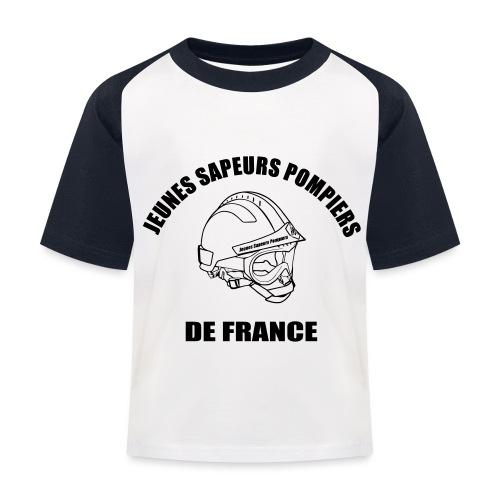 Jeunes Sapeurs Pompiers de France - T-shirt baseball Enfant