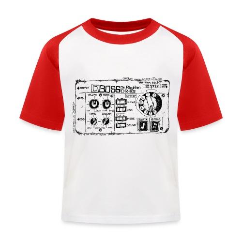 Drum Machine's R Ace! - Kids' Baseball T-Shirt
