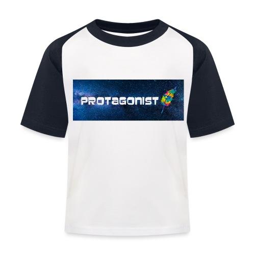 Protagonist by Schreiben-im-Flow.de - Kinder Baseball T-Shirt