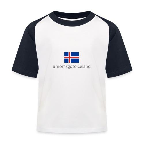 Iceland - Kids' Baseball T-Shirt