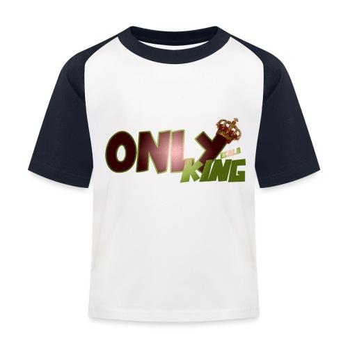 OnlyKing Ecolo design - T-shirt baseball Enfant