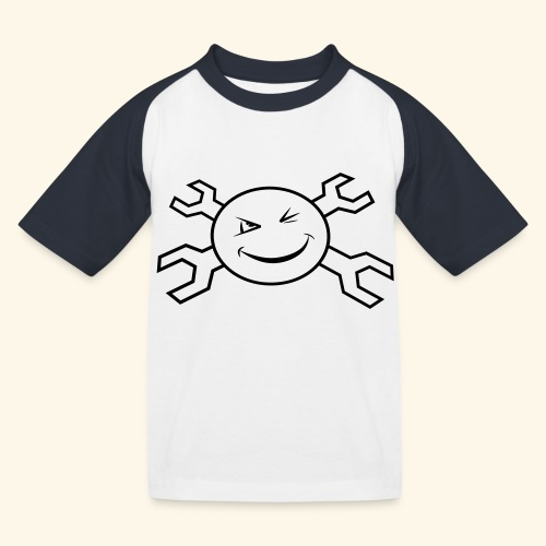 logo_atp_black - Kids' Baseball T-Shirt