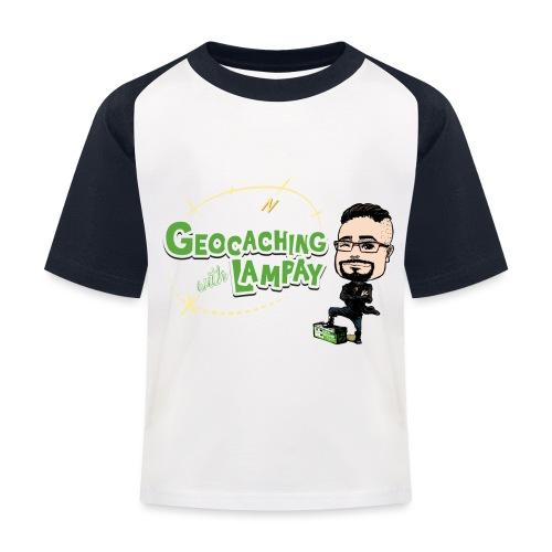 Geocaching With Lampay - T-shirt baseball Enfant