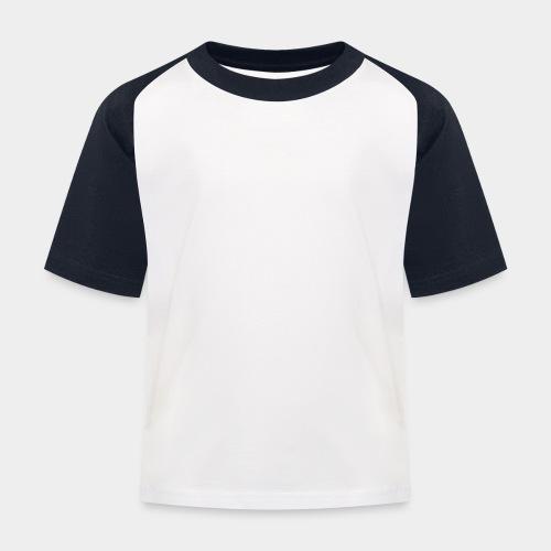 SAPHERA LOGO WHITE TRANS - Kinderen baseball T-shirt