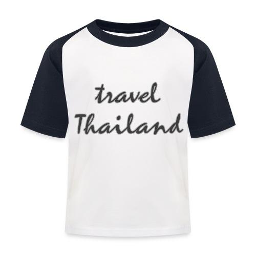 travel Thailand - Kinder Baseball T-Shirt