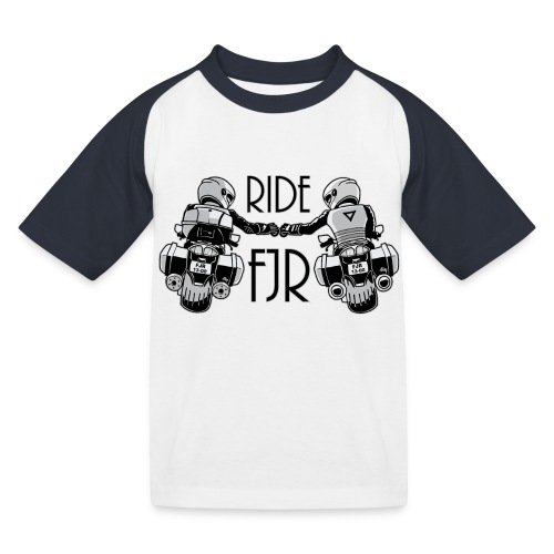 0852 2 RIDE FJR - Kinderen baseball T-shirt
