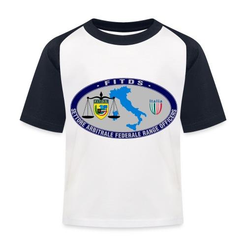 Logo SAFRO - Maglietta da baseball per bambini