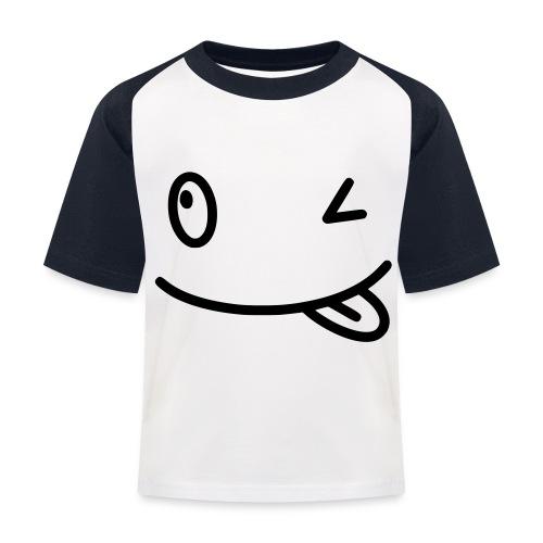 Smiley shirt - Maglietta da baseball per bambini