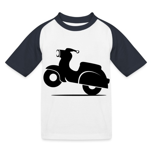Schwalbe knautschig - Kinder Baseball T-Shirt