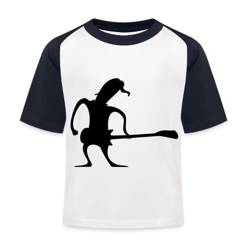 bassman - T-shirt baseball Enfant