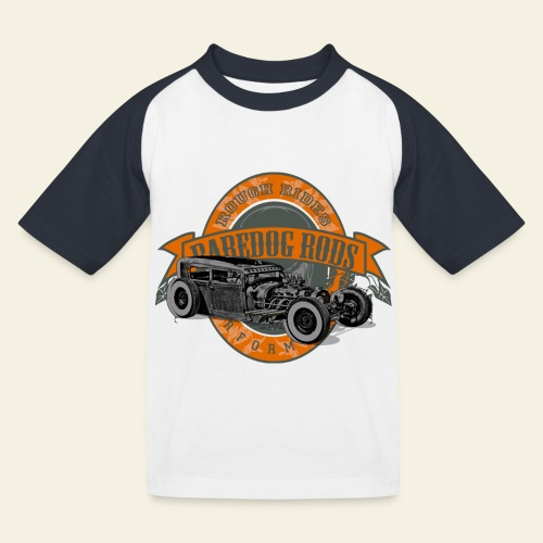 Raredog Rods Logo - Baseball T-shirt til børn