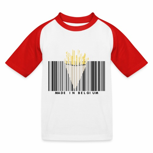 Made In Belgium - T-shirt baseball Enfant