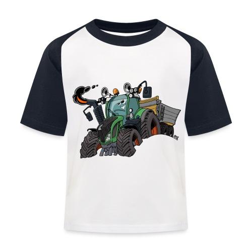 F 718Vario met kar - Kinderen baseball T-shirt