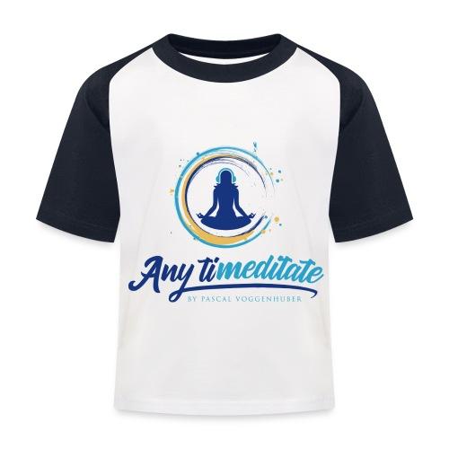 Any timeditate by Pascal Voggenhuber - Kinder Baseball T-Shirt