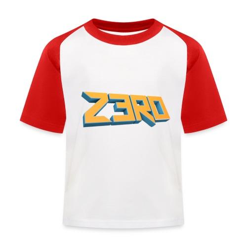 The Z3R0 Shirt - Kids' Baseball T-Shirt