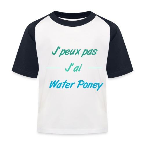 Water Poney - T-shirt baseball Enfant