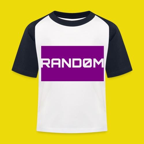 Random Logo - Kids' Baseball T-Shirt
