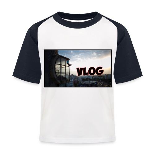 Vlog - Kids' Baseball T-Shirt