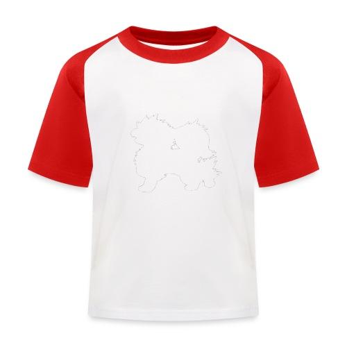 All white Arcanine Merch - T-shirt baseball Enfant