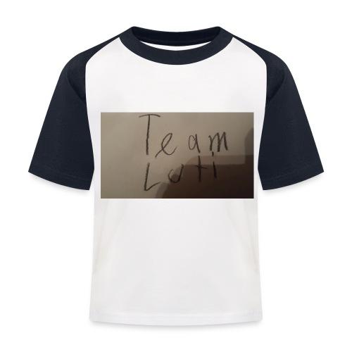 Team Luti - Kinder Baseball T-Shirt
