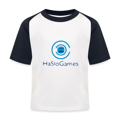 HasloGames Producten officieel logo - Kinderen baseball T-shirt