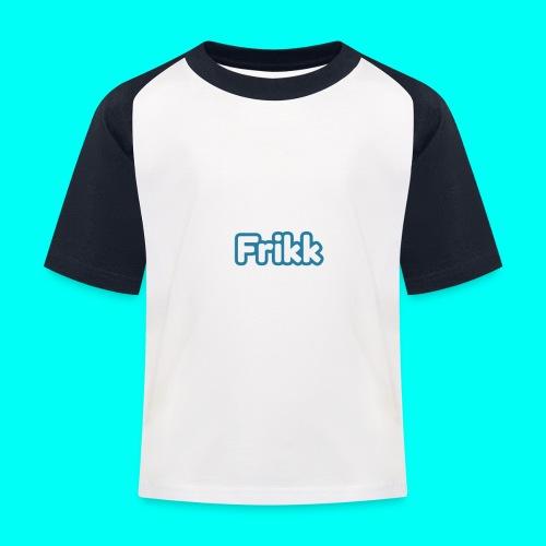 Frikk - Baseball-T-skjorte for barn