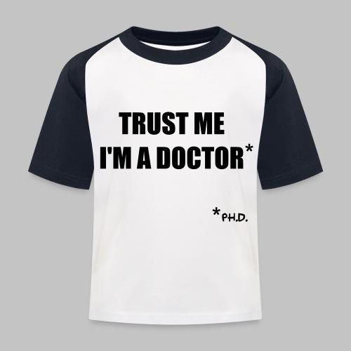 Trust me - Kids' Baseball T-Shirt