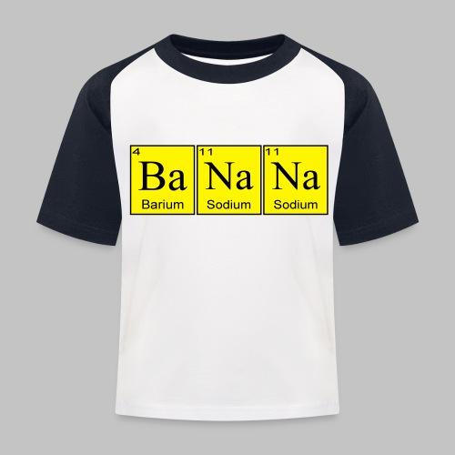 Banana - Kids' Baseball T-Shirt