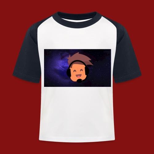 ProfilBild RymdBakgrund - Baseboll-T-shirt barn