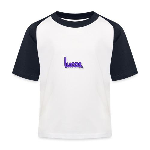 lucas - Kinderen baseball T-shirt
