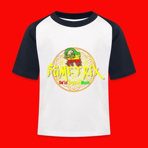 SÜEMTRIX FANSHOP - Kinder Baseball T-Shirt
