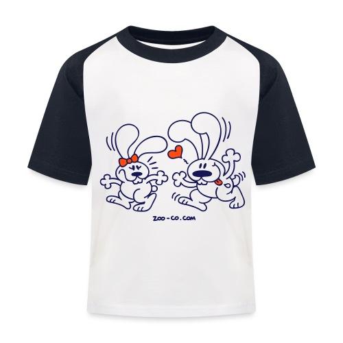 Hot Bunnies - Kids' Baseball T-Shirt