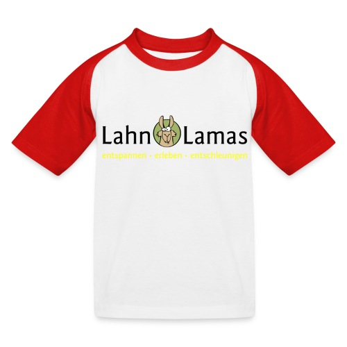Lahn Lamas - Kinder Baseball T-Shirt