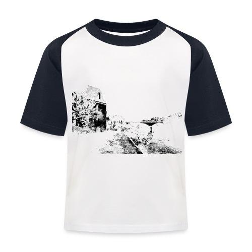 J'aime Mouleydier - Pont F - T-shirt baseball Enfant