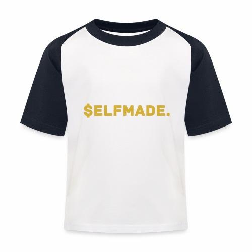 Millionaire. X $ elfmade. - Kids' Baseball T-Shirt
