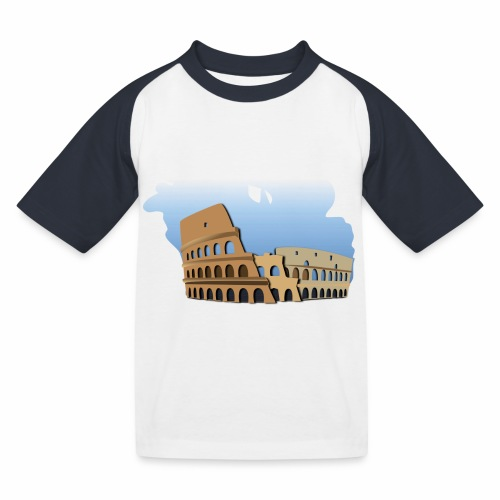 Kolosseum - Kinder Baseball T-Shirt
