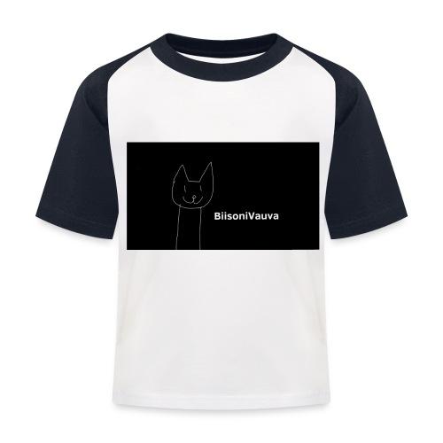 biisonivauva - Lasten pesäpallo  -t-paita