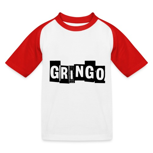 Cartel Gangster pablo gringo mexico tshirt - Kids' Baseball T-Shirt