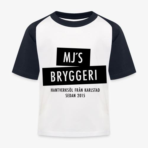MJs logga - Baseboll-T-shirt barn