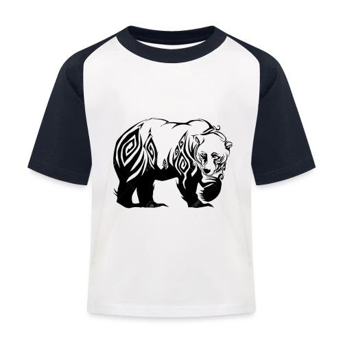 ours - T-shirt baseball Enfant
