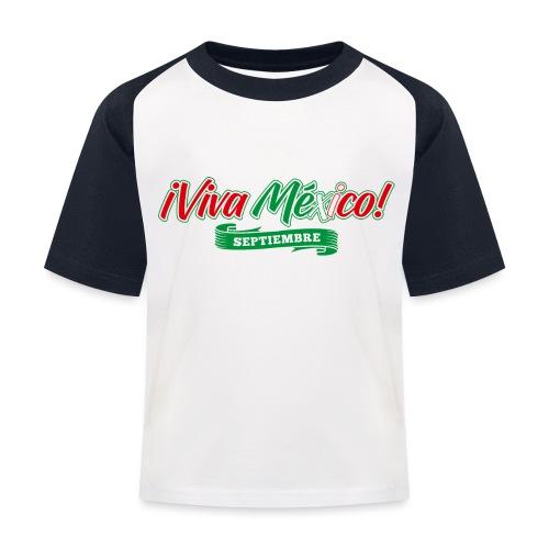 Viva Mexico - Camiseta béisbol niño