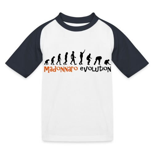 madonnaro evolution original - Kids' Baseball T-Shirt