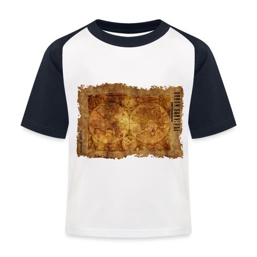 map of the world 2241469 1920 - Kinder Baseball T-Shirt